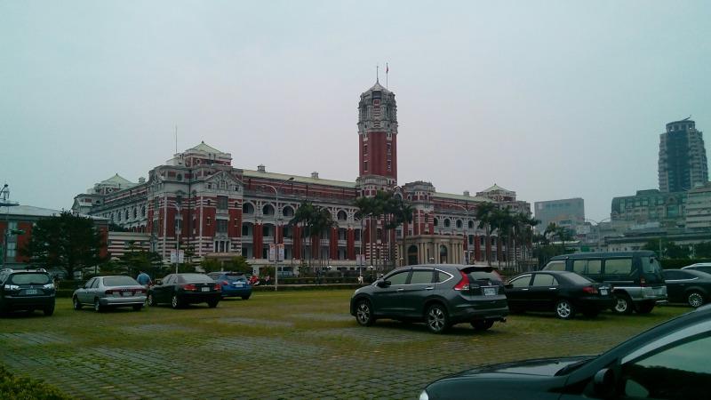 総統府ルネッサンス様式の美しい建物