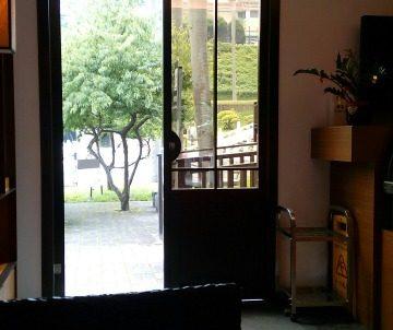 故宮博物院正面入口カフェ