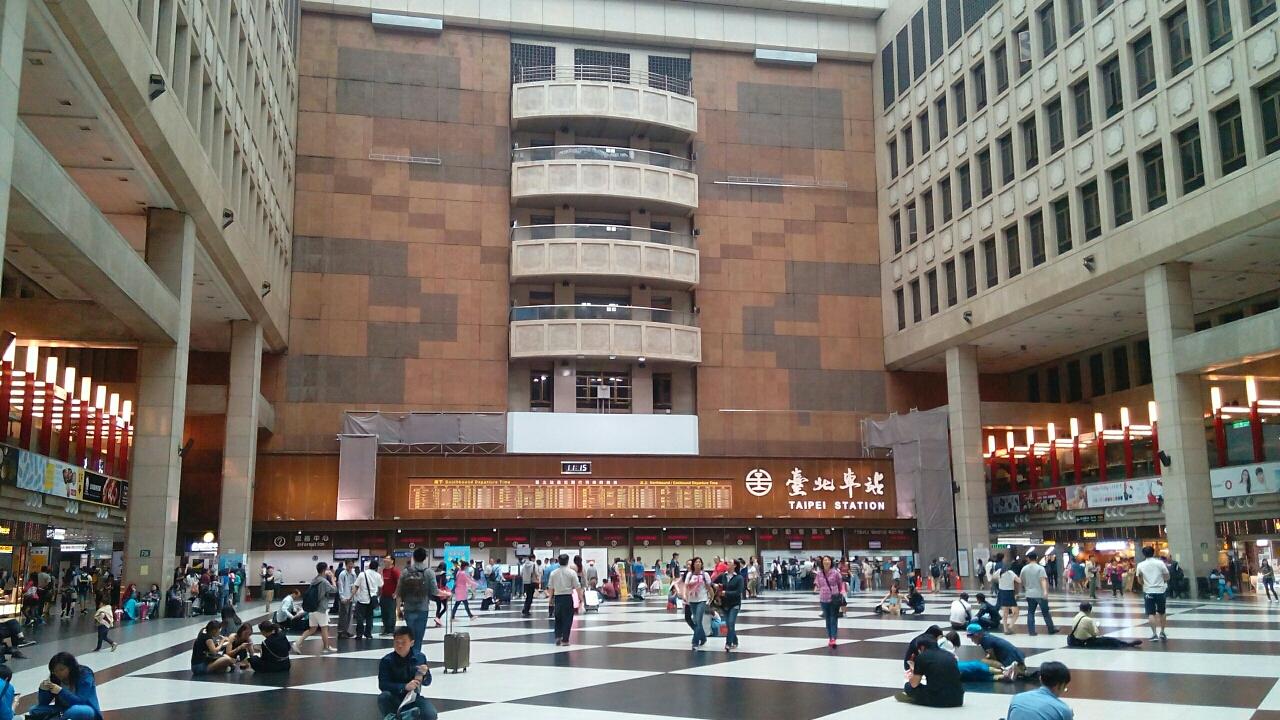 台北駅構内ホール
