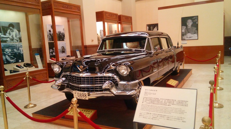 蒋介石が乗っていた車
