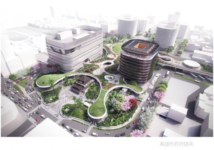 2023年開業予定の台湾高雄駅