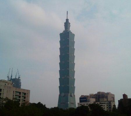 中山公園から台北101