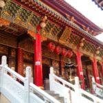 高雄駅からすぐ近くの三鳳宮へ街を散歩しながら歩く~旅ログ~
