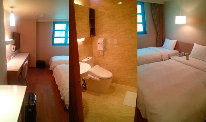 Kindness Hotel 高雄駅康橋大飯店チェンチエンツイン部屋内部