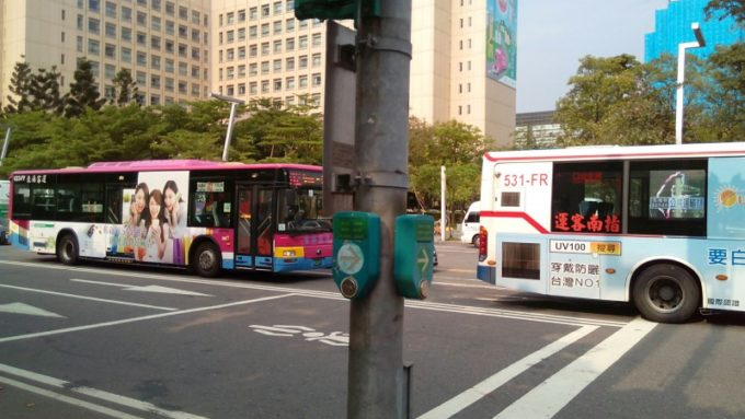 台北市内バス