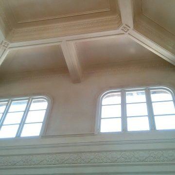 高雄市立歴史博物館のたくさんの形をした窓